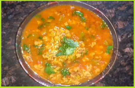 दाल बड़ी की सब्जी बनाने की विधि - How to Make Dal Mangodi Sabji