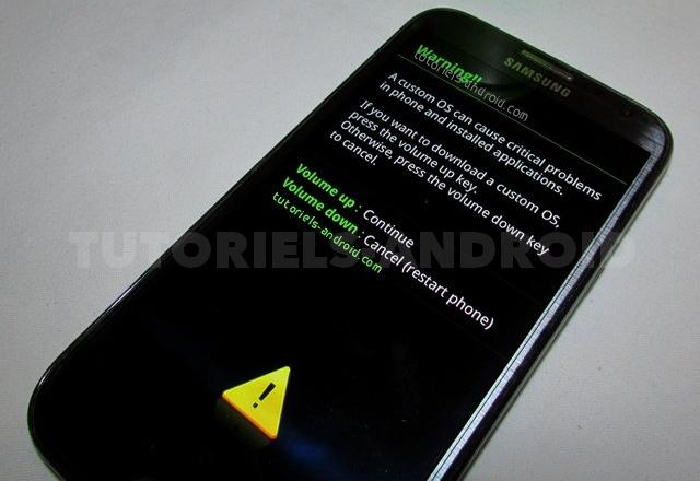 Mode Download GALAXY Note 2 GT-7100 et GT-N7105