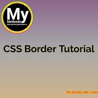 CSS Border Tutorial