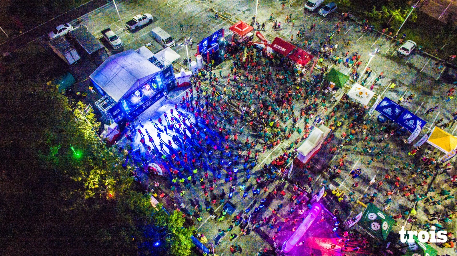 Sportline America Night Runners : RUNNING IN PANAMA
