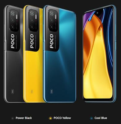 POCO M3 Pro 5G colours