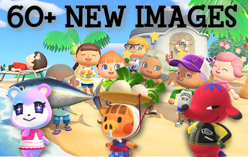 60 New Villagers Renders Artwork More Revealed For Animal