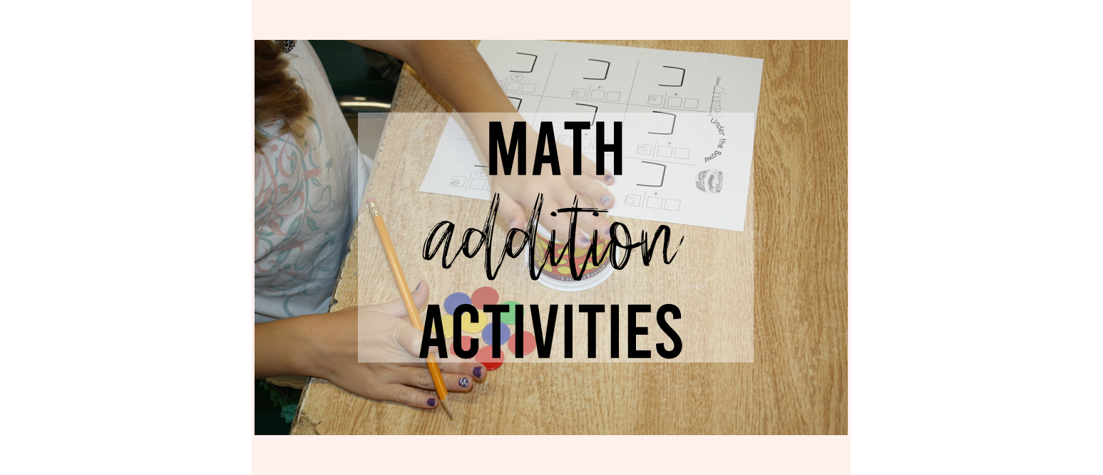 Six FREE Addition Games and Activities to Practice Math Fact Fluency #addition #math #1stgrademath #2ndgrademath
