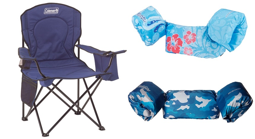 Amazon: Folding Chairs (with Coolers) only $18 (reg $37), Puddle Jumpers only $13 (reg $25), and More!