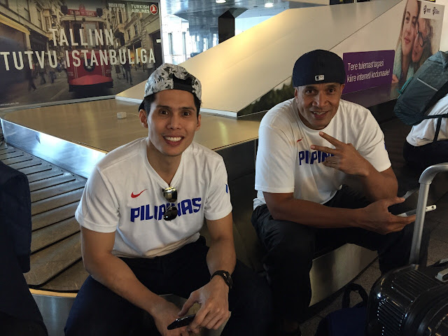 Dondon Hontiveros and Asi Taulava