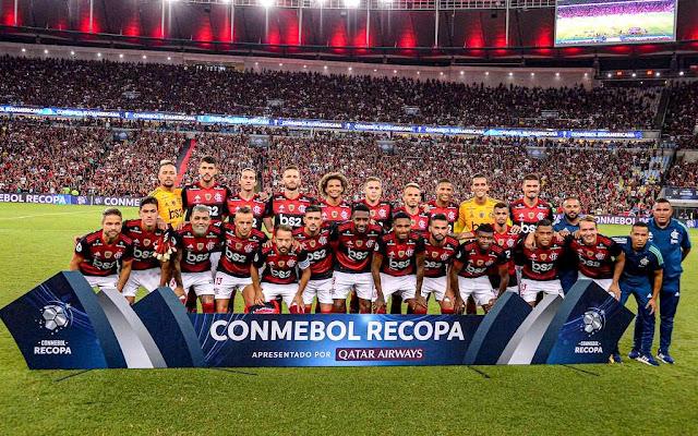 Resultado de imagem para flamengo campeão recopa 2020