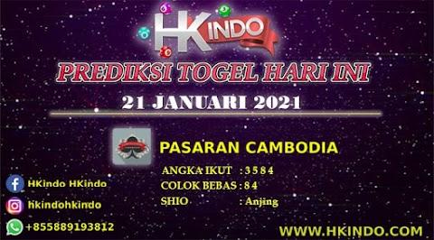 PREDIKSI TOGEL CAMBODIA HARI INI 21 JANUARI 2021