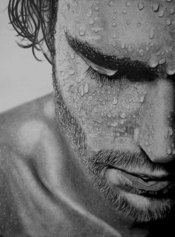 09-Contemplation-Paul-Shanghai-Hyper-Realistic-Water-Pencil-Drawings-www-designstack-co