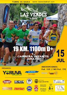 Carrera Las Verdes Trail