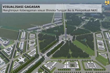 Ini Dia! Rancangan Desain Ibu Kota Baru Indonesia, Mirip Legenda Atlantis