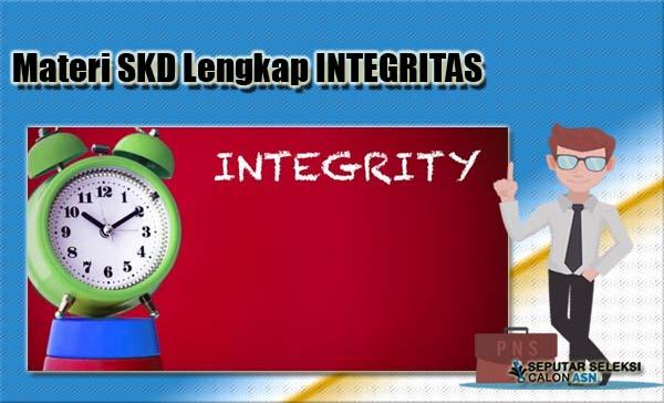 Materi Lengkap SKD Integritas