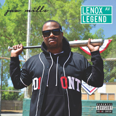 Jae Millz - Lenox Ave Legend - Album Download, Itunes Cover, Official Cover, Album CD Cover Art, Tracklist