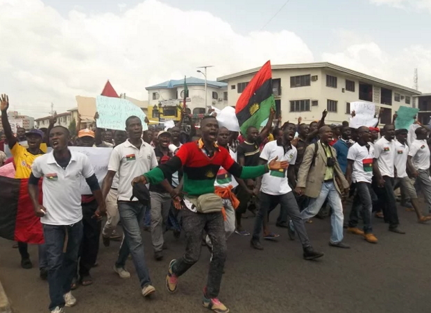 northern youths biafra protesters