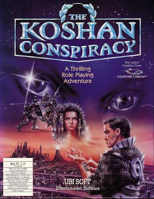 Portada videojuego B.A.T. II - The Koshan Conspiracy