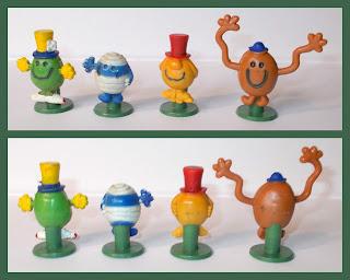 Mr Bump; Mr Happy; Mr Men; Mr Men Novelties; Mr Men Pencil Toppers; Mr Silly; Mr Tickle; Novelty Pencil Tops; Novelty Toy Pencil Tops; Pencil Toppers; Pencil Tops; Small Scale World; smallscaleworld.blogspot.com; Stationary;