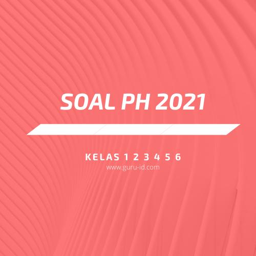 gambar soal Penilaian harian 2021