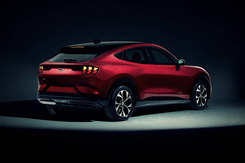 Introduced the electric Ford Mustang Mach-E and it's a crossover