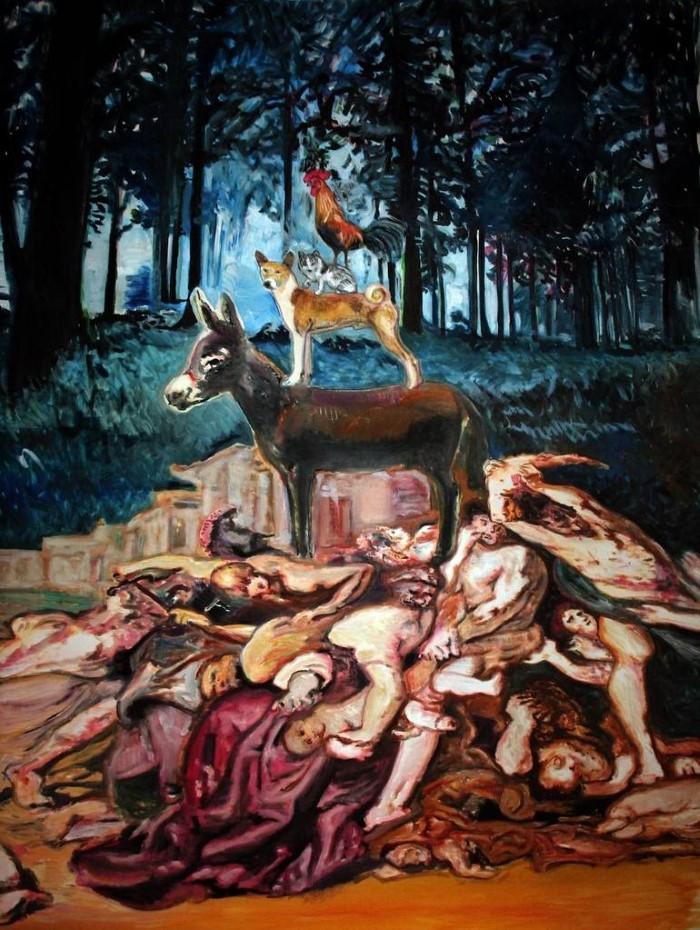Испанский художник. Jose Sales Albella