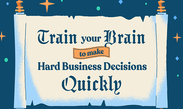How to Make a Hard Decision Fast and Skyrocket Your Business's Success #infographic
