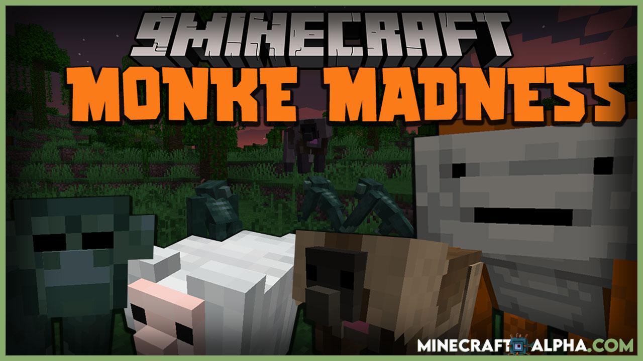 Minecraft Monke Madness Mod