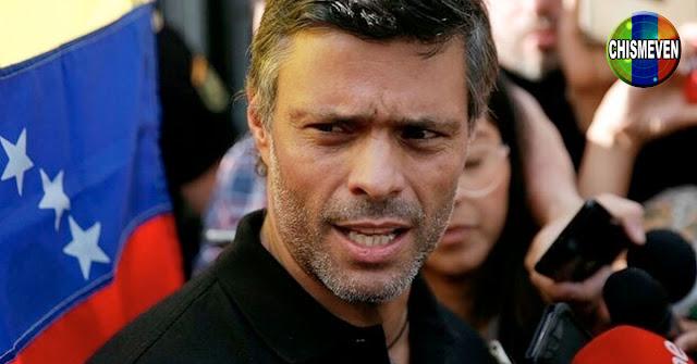 Leopoldo Lopez informa que apoya todas las acciones emprendidas por Juan Guaidó