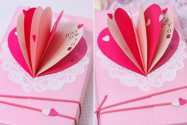 etiquetas, cartas, tarjetas, corazón, regalos, San Valentín, origami, amor, love