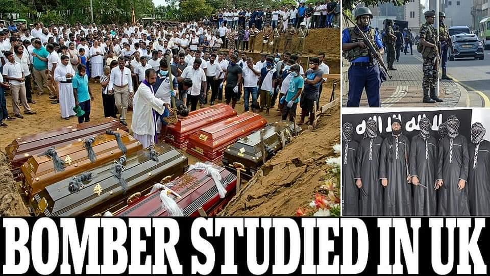 Sri Lanka attacker studied in UK and Australia, says minister.!!