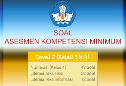 Soal Akm Asesmen Kompetensi Minimum Smp Sma Smk 2020 Info Pendidikan Terbaru