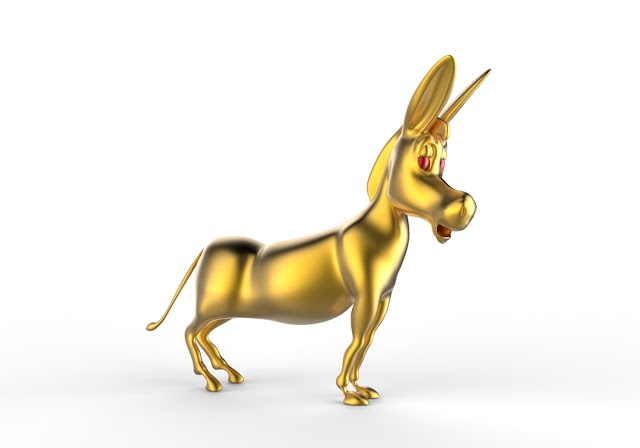 Donkey 3d model free download obj,maya,low poly