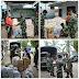 MEDAN: Peduli Korban Banjir, Yonkav 6/NK Beri Bantuan Sembako