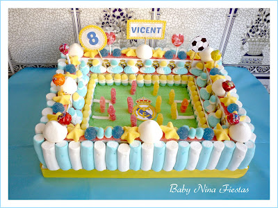 tarta chuches estadio Real Madrid