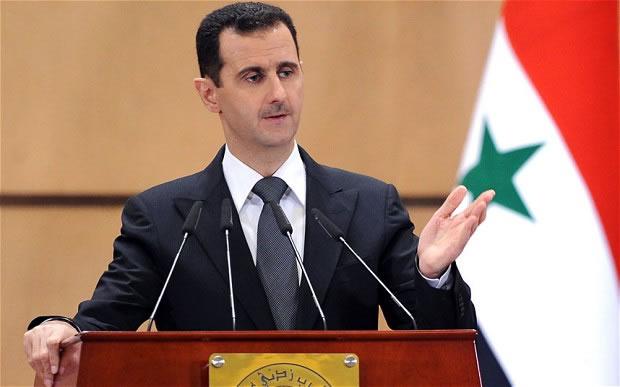 """O presidente sírio, Bashar al-Assad disse que o presidente eleito Donald Trump vai se tornar um """"aliado natural"""" se ele realizar sua promessa de lutar contra os """"terroristas"""""""