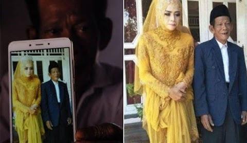 'Saya jatuh cinta pada pandangan pertama' - Gadis kahwin dengan atok berusia 83 tahun