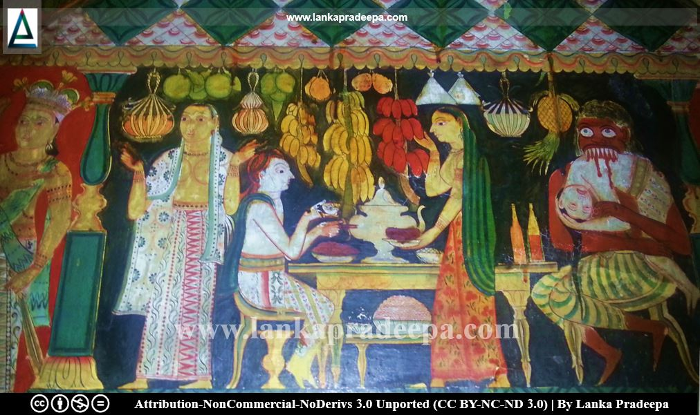 Telapatta Jatakaya from Paduma Rahat Viharaya