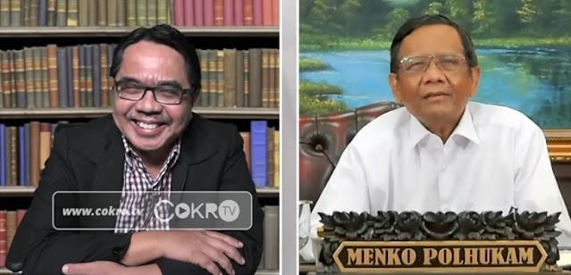 Mahfud MD vs Habib Rizieq Saling Serang, Panas Jelang Kepulangan HRS ke Indonesia