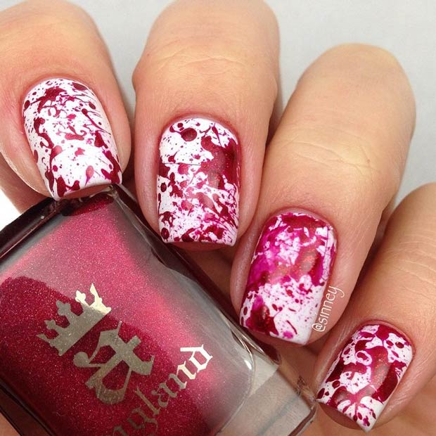 Awesome nail art designs for halloween nile corp blog awesome nail art designs for halloween prinsesfo Images