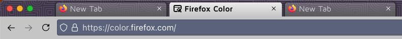 Firefox 89 lighter theme
