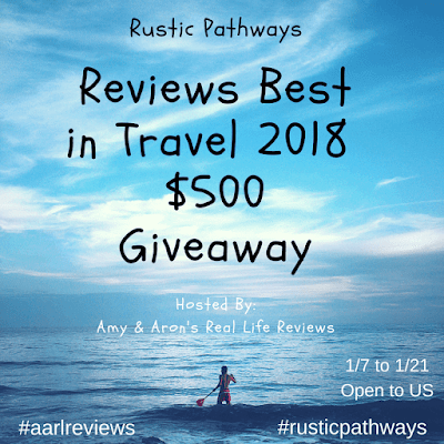 Enter the Rustic Pathways Reviews Best in Travel 2018 $500 Giveaway. Ends 1/21.