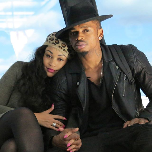 Image result for diamond and Hamisa Mobeto