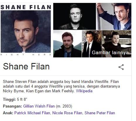 Fakta Menarik dari Shane Filan Dan Biografinya
