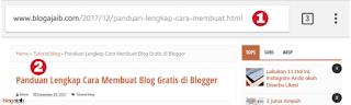 cara mengubah atau mengedit alamat url postingan blog