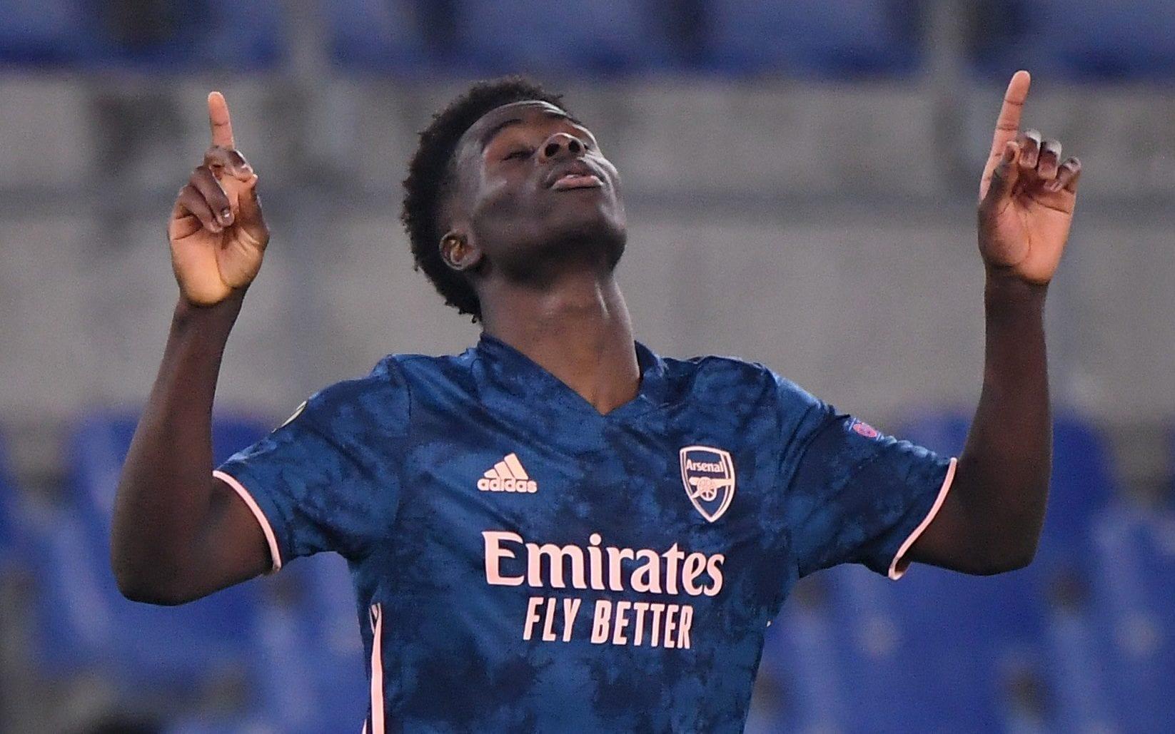 Arsenal wonderkid Bukayo Saka