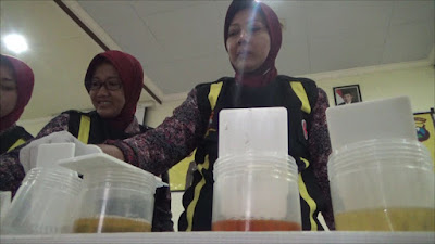 Persiapan Pam Arus Mudik, Anggota Polres Jombang Dites Urine
