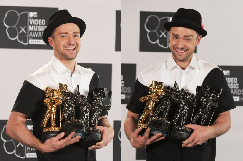 MTV VMAs 2013 official results revealed; Justin Timberlake wins big