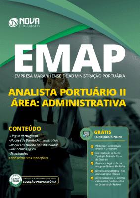 Apostila Concurso EMAP 2020 Analista Portuário Área Administrativa Grátis Cursos Online