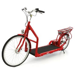 Lopifit, un vélo qui avance quand on marche dessus.
