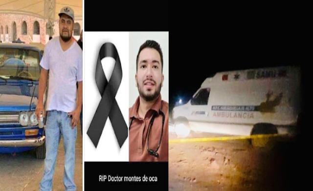 Fernando y Octavio paramédicos de Jalisco ejecutados tras regresar de traslado de paciente de Valparaíso ,Zacatecas en guerra CJNG vs CDS