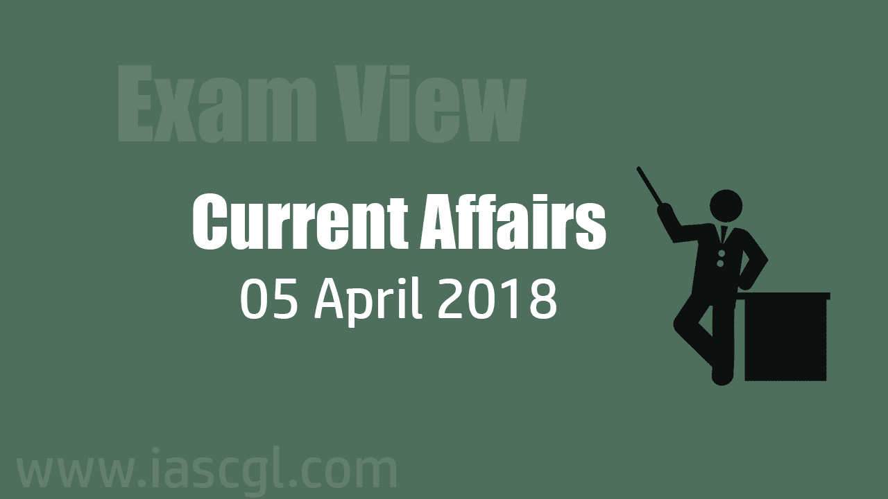 Current Affair 05 April 2018