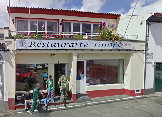 Restaurante Tony's en Furnas (Açores)