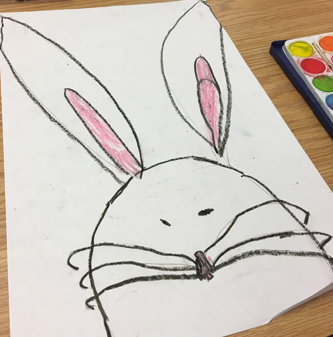 The Big Bunny and the Easter Eggs book review and related Easter activities for first grade